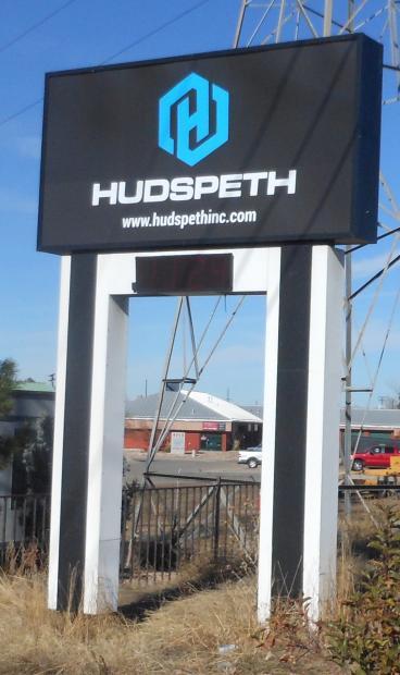 outdoor signage hudspeth denver, CO