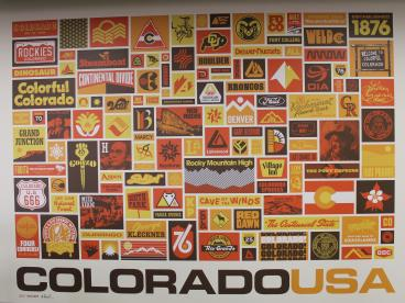wall mural skookem denver, CO