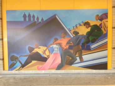 Wall Mural at Ballou High School