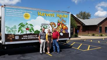 Box truck for Lincoln County