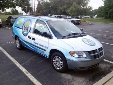Christine's Hope For Kids Vehicle Wrap