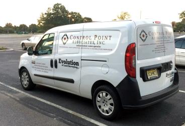 Control Point Vehicle Wrap