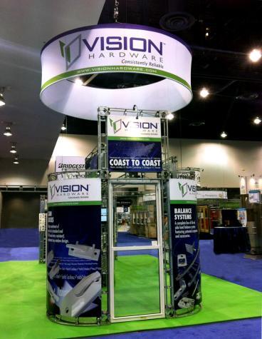 Vision Mechanical Trade Show Display