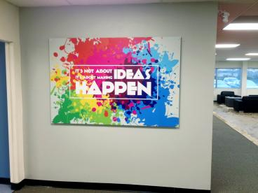Office decor and indoor signage  in Somerset NJ.