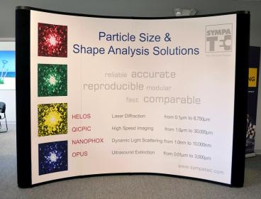 Trade show display and event signage