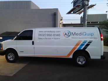 Vehicle Graphics Printed with 3M Automotive Vinyl and Laminate