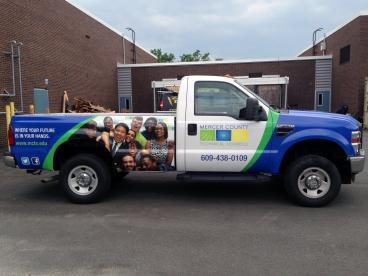 Mercer County Technical School Vehicle Wrap
