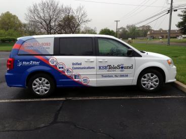 KSB TeleSound Vehicle Wrap