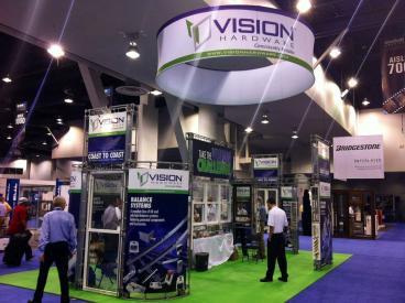 Vision Hardware Trade Show Display