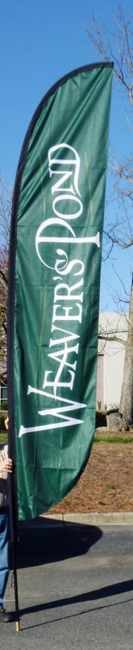 New Housing Development Flags