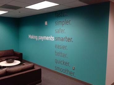 Cut Wall Lettering