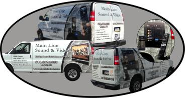 Main Line Sound & Video Fleet Wraps