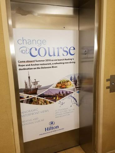 Elevator Door Wrap