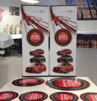 Retractable Banner Stands and Floor Graphics