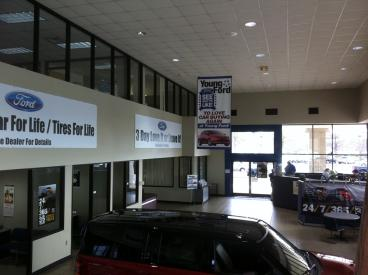 Banners for Auto Dealership Showroom