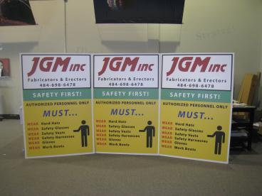 Aluminum Composite Exterior Signage