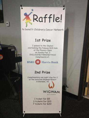 Children's Cancer Network Fundraiser Banner
