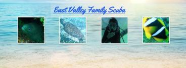 East Valley Family Scuba Banner