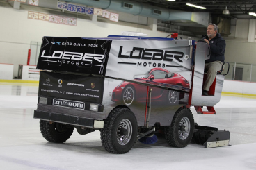 Zamboni Wrap - Loeber Motors for Skokie Park District