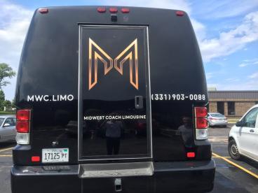 Van Wrap - Midwest Coach Limousine, Naperville
