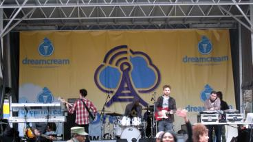 Stage banner