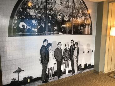 Entry way wall mural