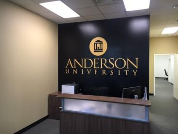 Anderson University, SpeedPro Greenville