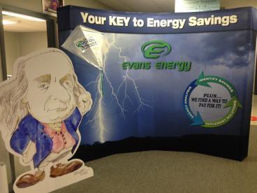 Evans Energy Trade Show Display Vandalia Dayton Ohio