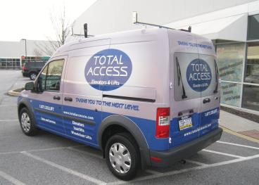 Full Vehicle Wrap - Ford Transit