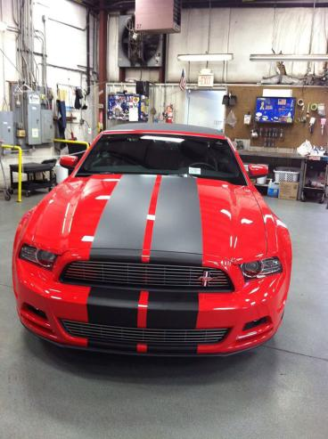 Racing stripes for cars