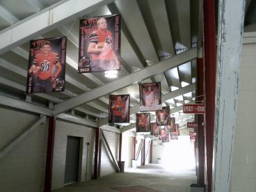Troy HS Football banners Vandalia Ohio