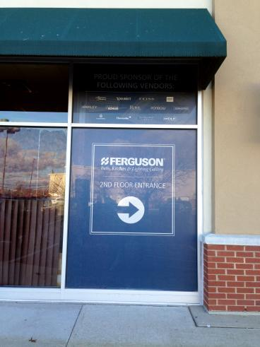 Window Graphic and vinyl lettering in Lawrenceville, NJ