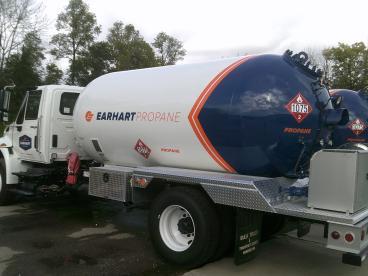 Earhart Tanker Partial Wrap Vandalia Ohio