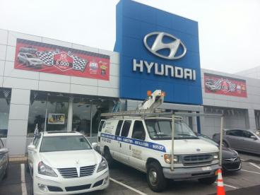 Exterior Banners for Auto Dealer