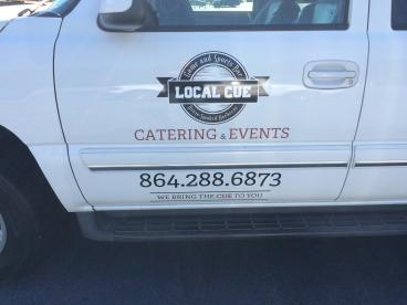 Local Cue Catering and Events, SpeedPro Greenville