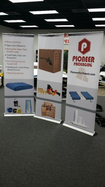 Trade Show retractable stands