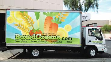Boxed Greens Boxed Truck