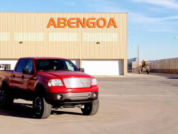 Abengoa Warehouse Sign