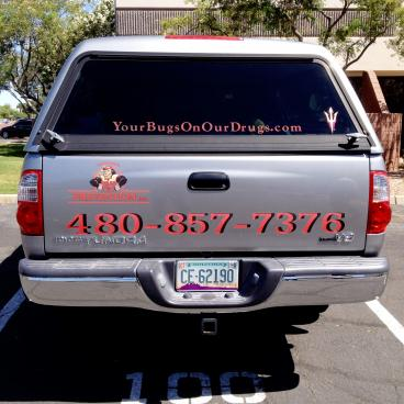Pest Prevention Inc. Vehicle Wrap