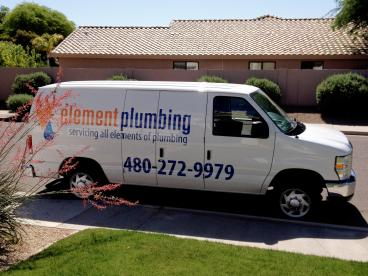 Element Plumbing Vehicle Wrap