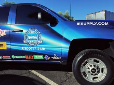 Independent Electric Supply Vehicle Wrap