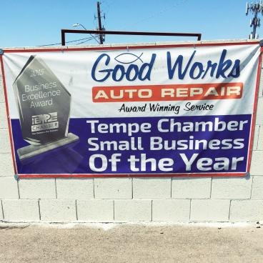 Good Works Auto Repair Banner