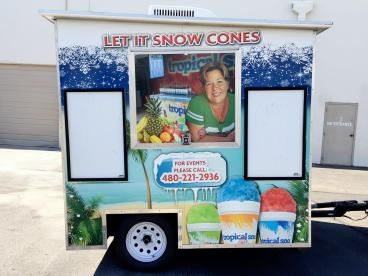 Let it Snow Cones LLC Booth