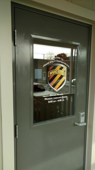 Entrance Graphic