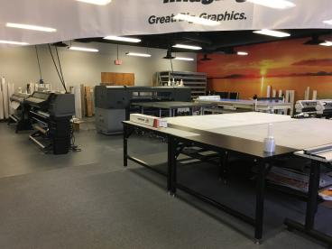 Speedpro Dallas on Elmbrook Drive cutting edge digital printing