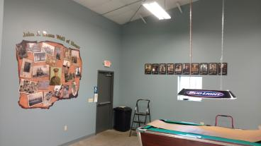 Mural and Honor Wall