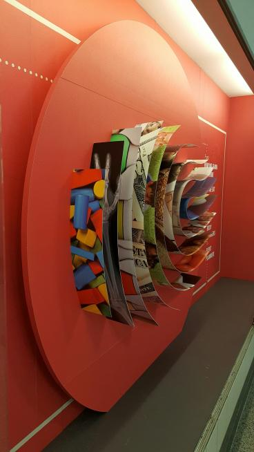 Three Dimensional Wall - Print and Install