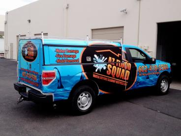 AZ Flood Squad Vehicle Wrap