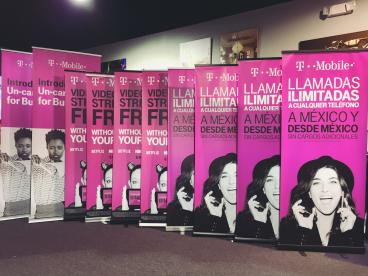 T-mobile Retractable Banners