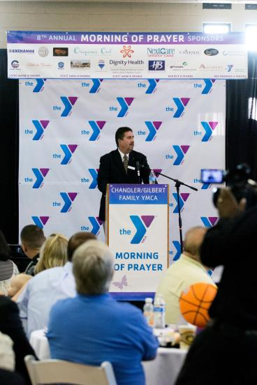 YMCA Step and Repeat Banner